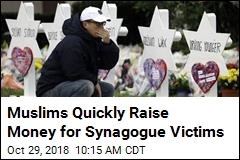 Muslims Raise More Than $100K for Synagogue Victims