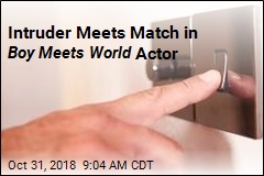 Intruder Meets Match in Boy Meets World Actor