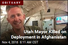 Utah Mayor Killed on Deployment in Afghanistan