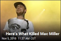 Mac Miller's Cause of Death Revealed