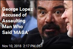 George Lopez Accused of Assaulting Trump Fan