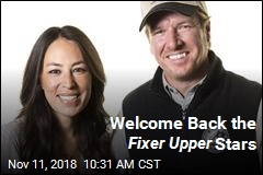 Chip, Joanna Gaines Are Coming Back to TV