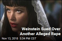 Paz de la Huerta Sues Weinstein Over Alleged Rape