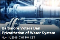 Baltimore Voters Ban Privatization of Water System