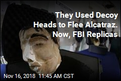 They Used Decoy Heads to Flee Alcatraz. Now, FBI Replicas