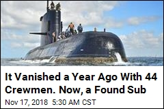 It Vanished a Year Ago With 44 Crewmen. Now, a Found Sub