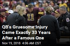 QB's Gruesome Injury Came Exactly 33 Years After a Famous One