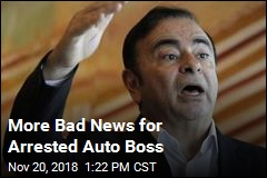 More Bad News for Arrested Auto Boss