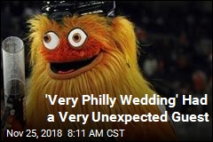Flyers' Weird Mascot Crashes a Wedding