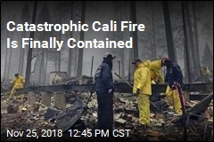 One of the Cali Fires Is Finally Contained