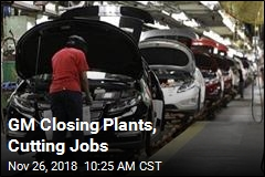 GM Is Halting Production at 5 Plants