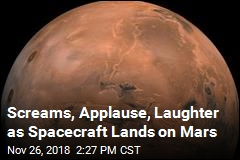 After Perilous, 6-Minute Descent, a Mars Landing
