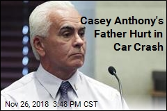 Casey Anthony's Dad Hurt in Car Crash