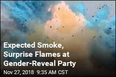 Gender-Reveal Explosion Sparks Wildfire on Video