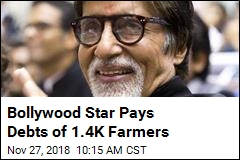 Bollywood Star Shows Big Love for Farmers