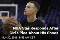 NBA Star Responds After Girl's Plea About His Shoes