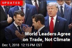 World Leaders Agree on Trade, Not Climate