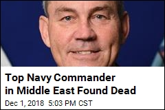 Top Navy Commander in Middle East Found Dead