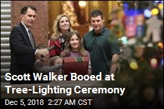 Scott Walker Booed at Tree-Lighting Ceremony