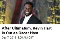 Kevin Hart Steps Down After Academy Ultimatum