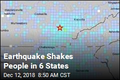 Earthquake Shakes People in 6 States