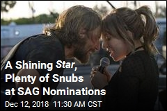 A Shining Star , Plenty of Snubs at SAG Nominations