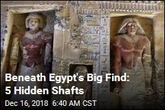Egypt's 'One-of-a-Kind' Find: Untouched, Unlooted Tomb