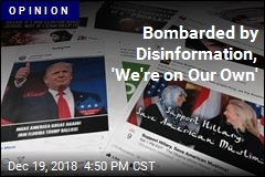Bombarded by Disinformation, 'We're on Our Own'