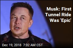 Musk Unveils Prototype Tunnel