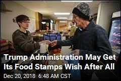 Getting Food Stamps May Be About to Get Tougher