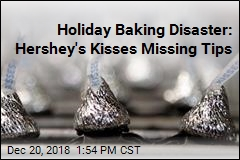 Holiday Baking Disaster: Hershey's Kisses Missing Tips