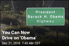 You Can Now Drive on 'Obama'