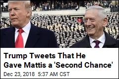 Trump: Mattis Got a 'Second Chance' From Me