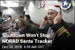 Government Shutdown Won't Affect Santa Tracker