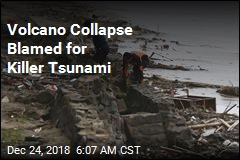 Volcano Collapse Blamed for Killer Tsunami