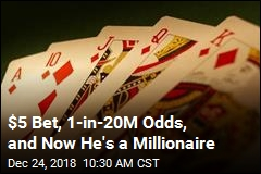 $5 Casino Bet Makes Him a Millionaire
