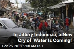 In Jittery Indonesia, a New Cry of 'Water Is Coming!'