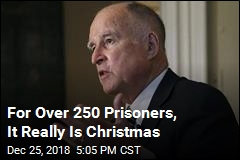 For Over 250 Prisoners, It Really Is Christmas