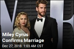 Miley Cyrus Confirms Marriage