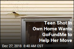 Teen Shot in Own Home Wants GoFundMe to Help Her Move