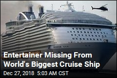 Cruise Ship Performer Is Lost at Sea