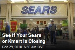 See If Your Sears or Kmart Is Closing