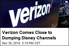 Verizon Dumping Disney Channels? New Deal Emerges