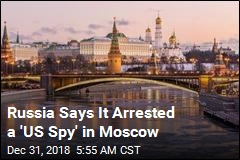 Russia: American Arrested 'During Espionage Operation'