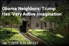 Neighbors: Trump Is Wrong About Obama Wall