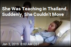 She Was Teaching in Thailand. Suddenly, She Couldn't Move