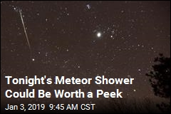 Tonight's Meteor Shower Could Be Worth a Peek