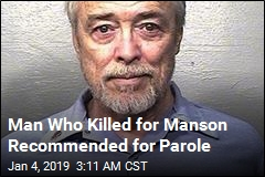 Manson Family Member Recommended for Parole