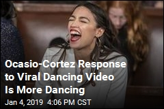 Ocasio-Cortez Response to Viral Dancing Video Is More Dancing