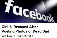 Girl, 6, Rescued After Posting Photos of Dead Dad